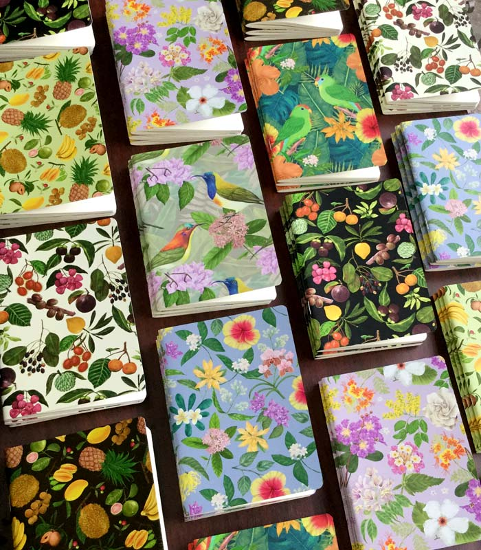Philippine Flowers and Birds Notebooks