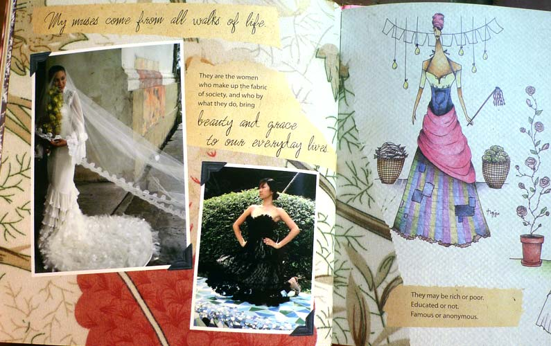 Tippi Ocampo fashion design book