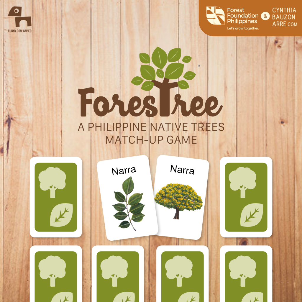 ForesTree Philippine Native Trees Memory Match-up Game