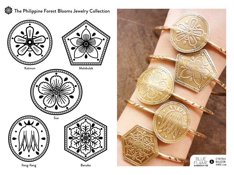 Philippine Native Trees Jewelry Collection