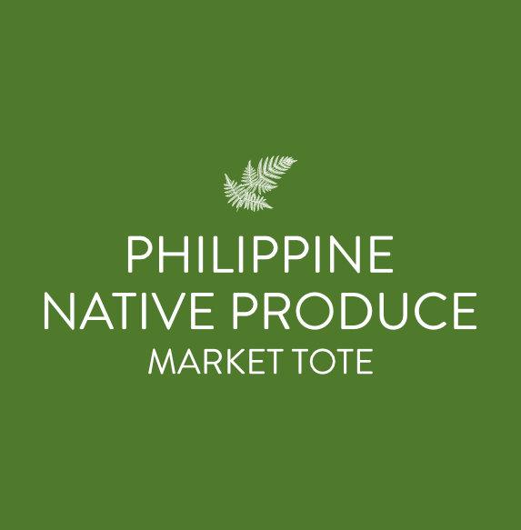philippine native produce market tote