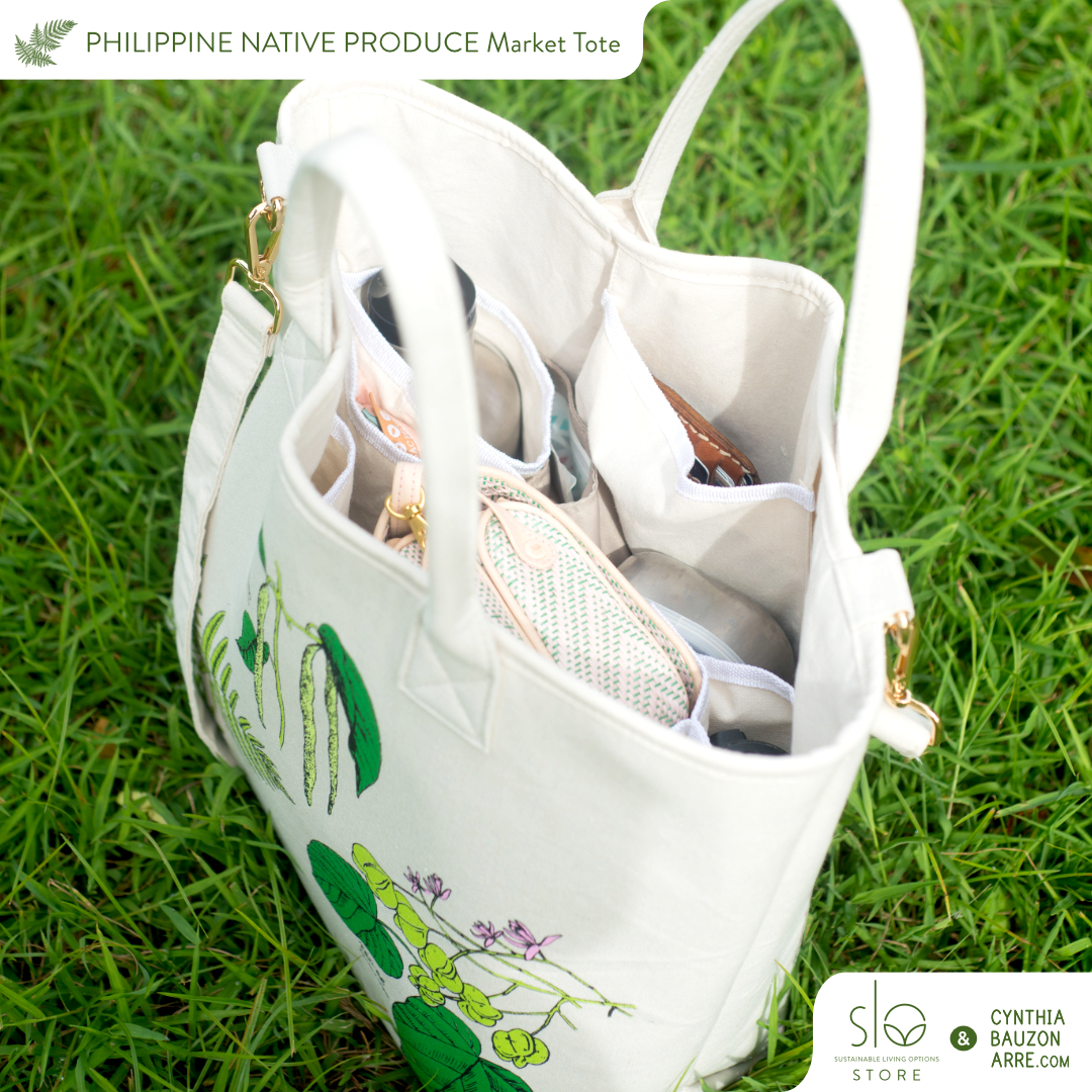 Philippine native produce tote bag